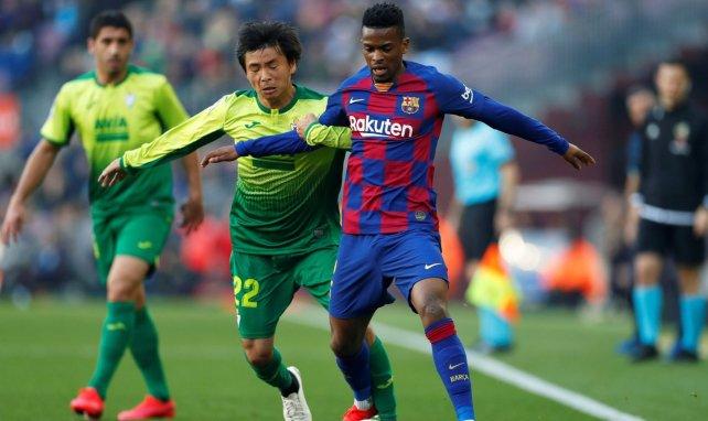 Nelson Semedo cette saison avec le FC Barcelone