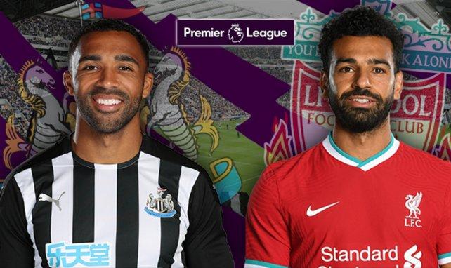 Les composition de Newcastle-Liverpool
