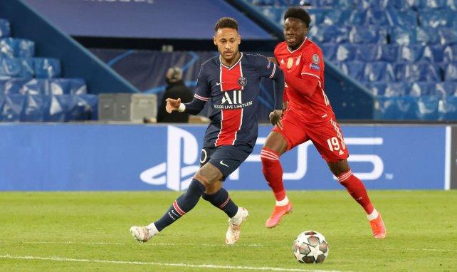 Neymar échappé à Davies