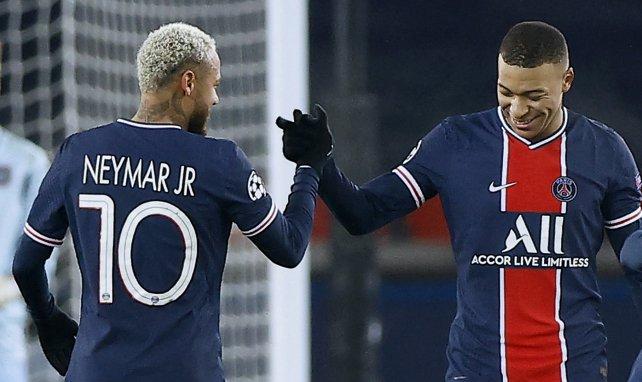Le groupe du PSG contre Angers