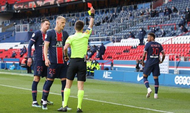 Neymar a vu rouge face à Lille
