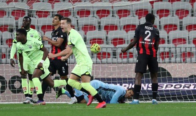Ligue 1 : Dijon fait plonger Nice dans la crise