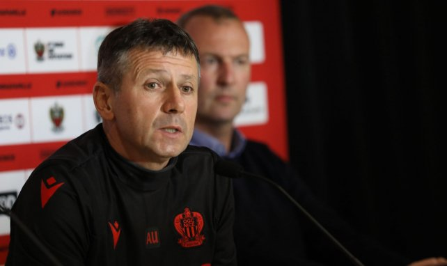 Adrian Ursea, l'entraîneur de Nice