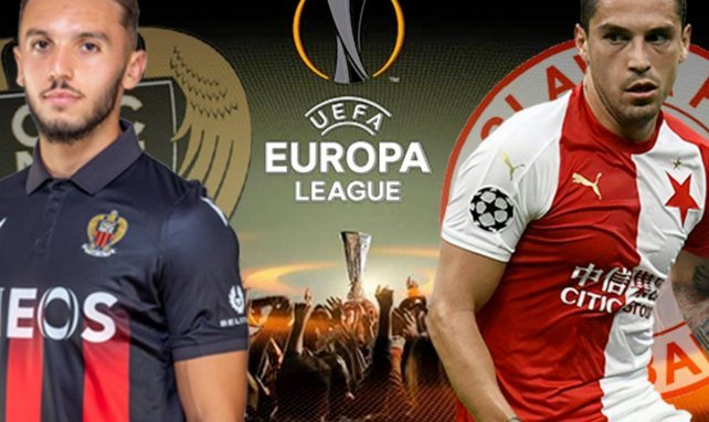 Nice - Slavia Prague : les compositions officielles