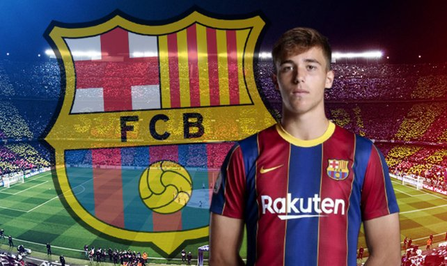FC Barcelone : la pépite Nico Gonzalez prolonge