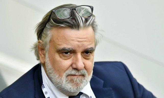 Laurent Nicollin, le président du Montpellier HSC