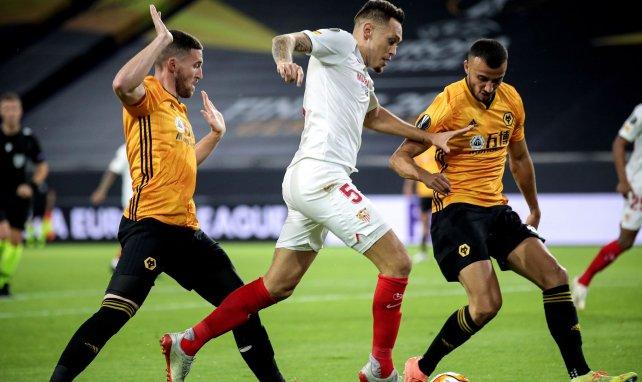 Séville : Lucas Ocampos savoure son but victorieux