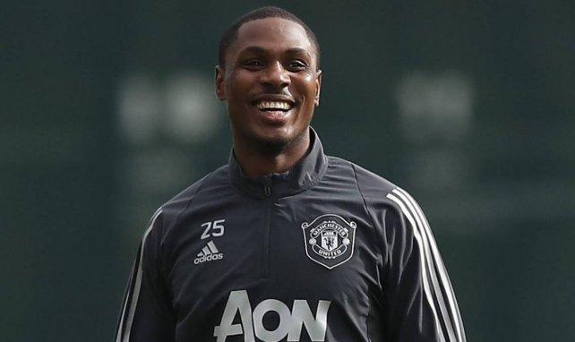 Odion Ighalo voulait finir la saison avec Manchester United