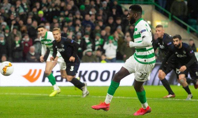 Odsonne Édouard avec le Celtic contre Copenhague