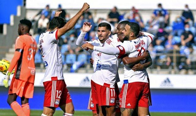 Ligue 1 : l'OL retrouve enfin le chemin de la victoire à Strasbourg
