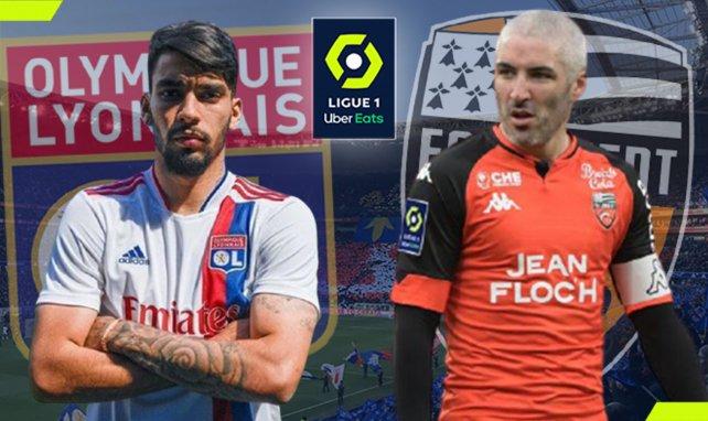 OL - Lorient : les compositions sont là