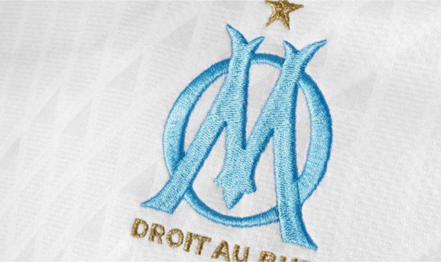 L'écusson de l'Olympique de Marseille