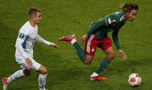 Valentin Rongier face à Alexis Beka Beka
