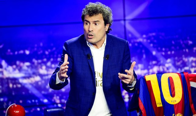 Omar Da Fonseca en plateau sur BeIN Sports (crédit photo Panoramic)