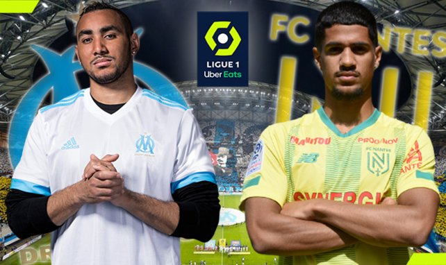 OM-Nantes : les compositions officielles