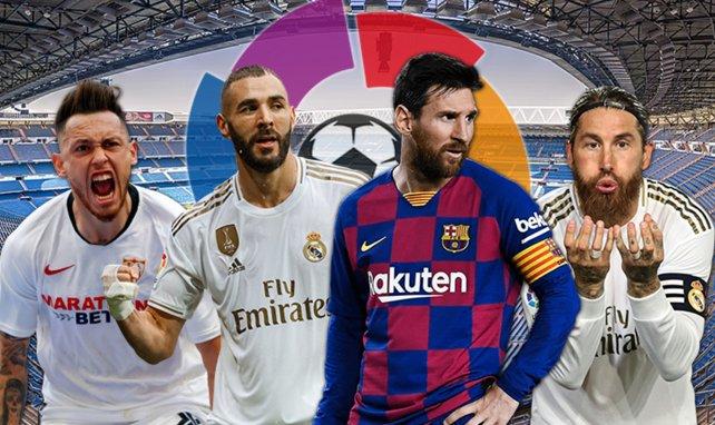 Plusieurs Madrilènes sont dans le onze type de la Liga de cette saison