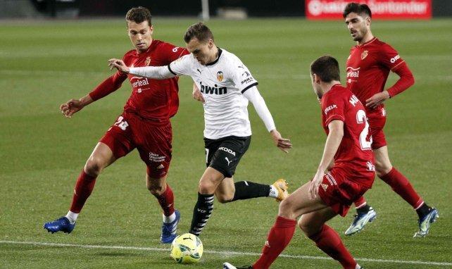 Liga : le Valencia CF accroché par Osasuna