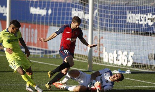 Liga : Osasuna et Getafe dos à dos