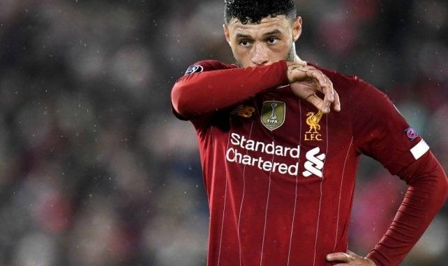 Alex Oxlade-Chamberlain sous les couleurs de Liverpool