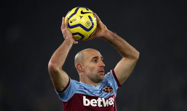 Pablo Zabaleta à West Ham