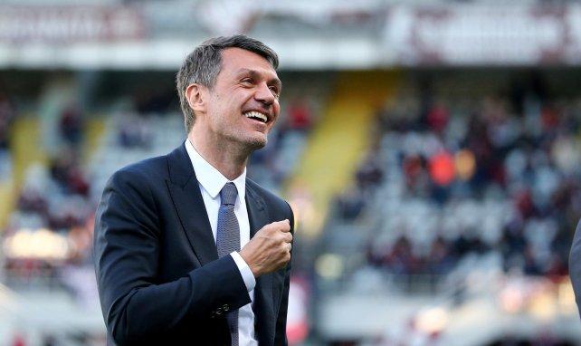 Paolo Maldini es el director deportivo del AC Milan