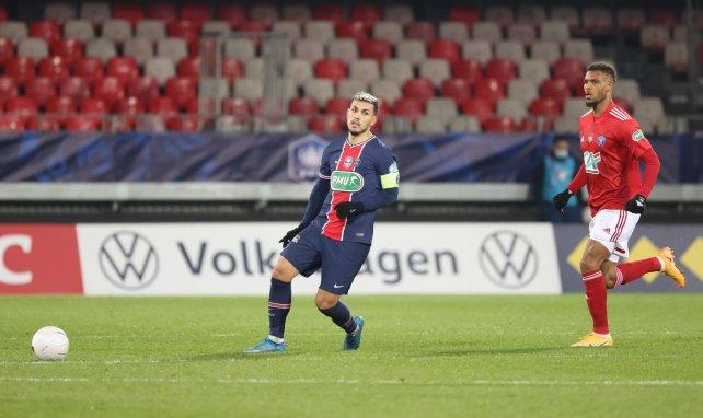 Leandro Paredes face au Stade Brestois