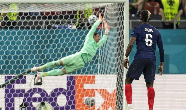 Paul Pogba lors de France-Suisse