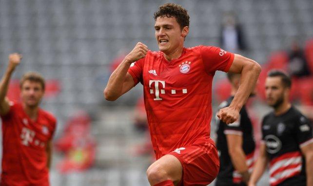 Benjamin Pavard sous le maillot du Bayern Munich