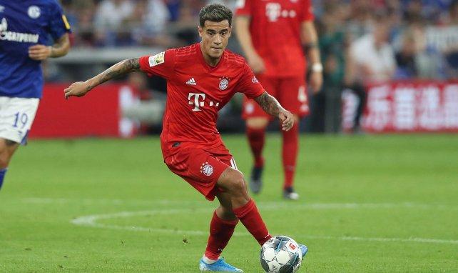 Philippe Coutinho en action avec le Bayern Munich