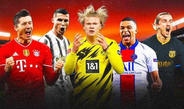Lewandowski, Ronaldo, Haaland, Mbappé et Griezmann agitent le mercato
