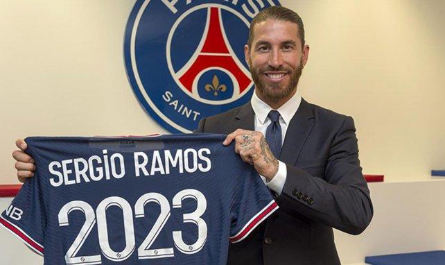 Les premiers pas compliqués de Sergio Ramos au PSG