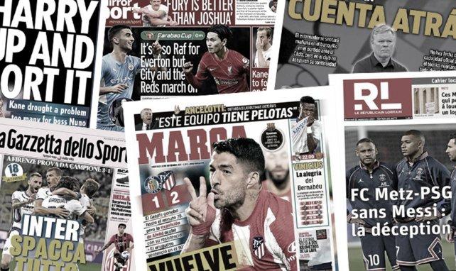 Tottenham met un coup de pression à Harry Kane, les 2 favoris du Barça pour remplacer Ronald Koeman