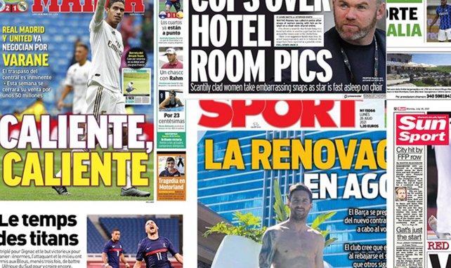 Romelu Lukaku sait où il jouera la saison prochaine, les détails croustillants du transfert de Varane à Manchester United