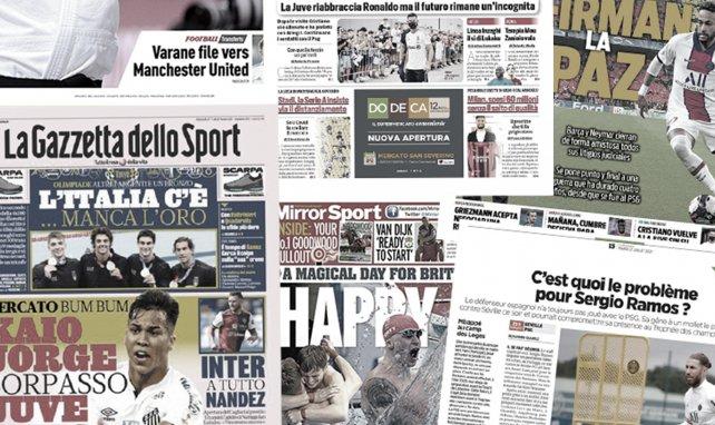 La paix entre Neymar et le Barça soulage l'Espagne, comment la Juventus compte reconquérir le cœur de CR7