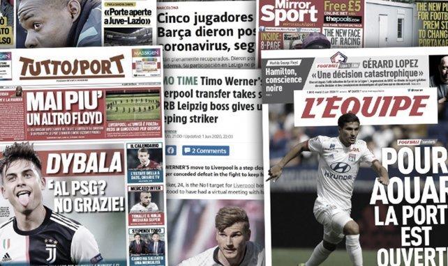 Cinq joueurs du Barça testés positifs au coronavirus,  Leipzig panique pour Timo Werner