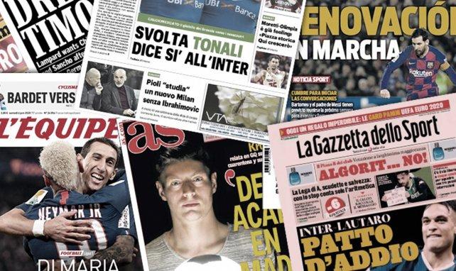 Le FC Barcelone lance les grandes manœuvres pour prolonger Lionel Messi, l'Inter proche d'enrôler une pépite italienne