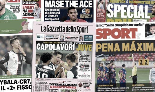 Le Barça fait un énorme cadeau au Real Madrid, Cristiano Ronaldo et Paulo Dybala emballent l'Italie