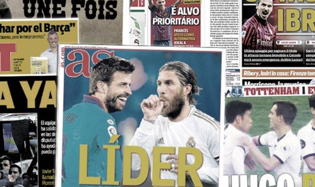 La guerre fait rage entre Barcelone et Madrid, l'altercation entre Lloris et Son surprend l'Angleterre