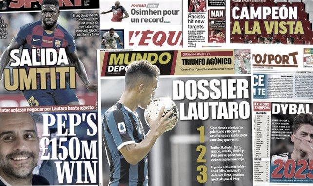 L'énorme enveloppe de Manchester City pour le mercato, le Barça a un nouveau plan pour Lautaro Martinez