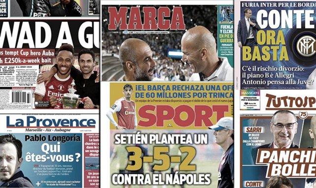 La folle proposition d'Arsenal pour pousser Aubameyang à prolonger, rien ne va plus entre l'Inter et Antonio Conte