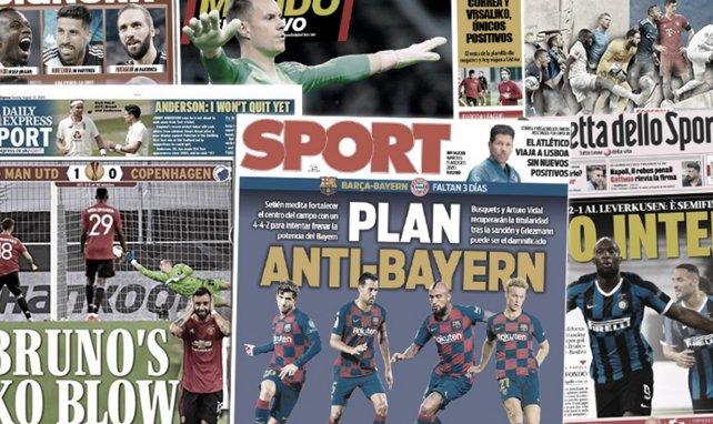 Le Barça a trouvé son plan anti-Bayern, Bruno Fernandes met l'Angleterre à ses pieds