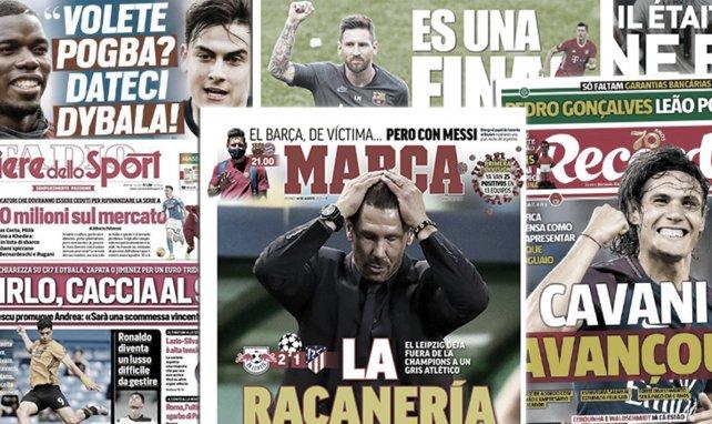 Une pluie de critiques s'abat sur Diego Simeone, Andrea Pirlo lance son casting de n° 9