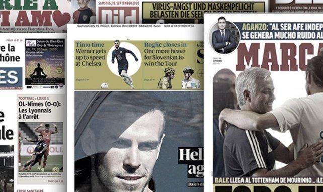 La presse madrilène contente de se débarrasser du boulet Gareth Bale, le carton du Bayern Munich fait grand bruit