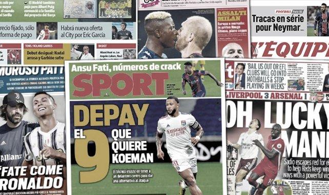 L'ultime assaut du Barça sur le mercato, Sadio Mané fait les gros titres en Angleterre