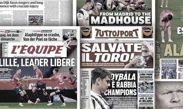 Le coup de pression de Paulo Dybala à la Juventus, le cauchemar de Gareth Bale pour son retour avec Tottenham régale l'Angleterre