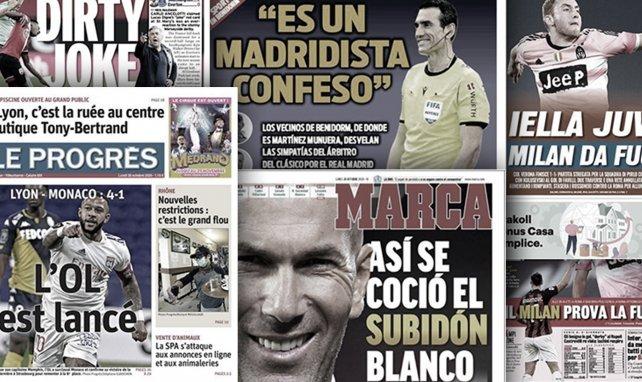 Les accusations de la presse catalane sur l'arbitre du Clasico, le chef d'œuvre de Zinedine Zidane
