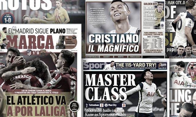 La masterclass de José Mourinho enflamme toute l'Angleterre, le FC Barcelone tremble après la terrible blessure de Gerard Piqué