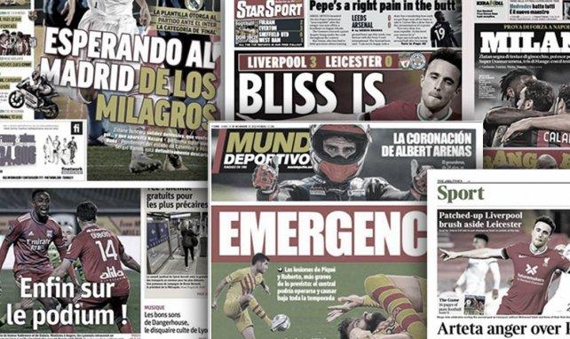 L'Angleterre en furie après le coup de sang de Nicolas Pépé, les nouvelles tuiles qui plombent le FC Barcelone