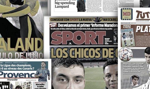 Le coup de pression de José Mourinho à Frank Lampard, le FC Barcelone assis sur une montagne d'or