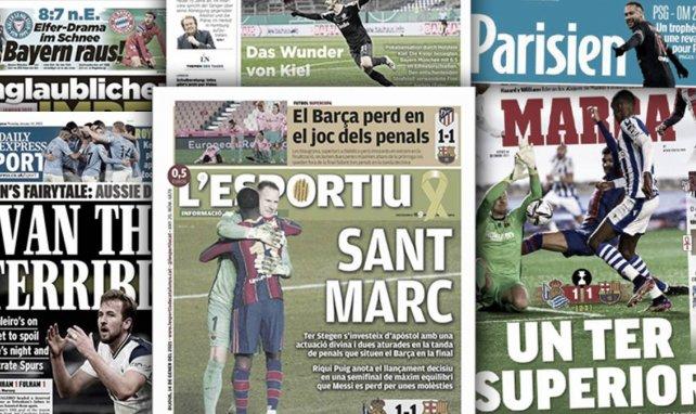 Le fiasco du Bayern Munich fait jaser en Allemagne, Marc-André ter Stegen est porté en héros par la presse espagnole